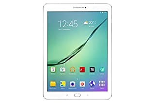 "Samsung Galaxy Tab S2 Tablette tactile 10"" Blanc (Octacore 1,9 GHz, Disque dur 32 Go, 3 Go de RAM, Android 5.0) (B012FXTXPM) 
