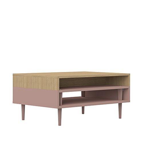 Symbiosis 2150A5100X00 HORIZON Table Basse Chêne Clair, 80 x 37 x 53 cm