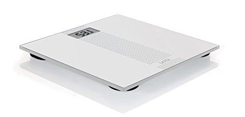 Laica Bilancia PS1054 Pesapersone Elettronica, Fascia Centrale Puntinata Grigio, 180 kg