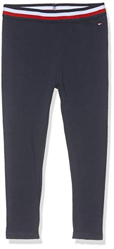 Tommy Hilfiger Baby-Mädchen SOLID Leggings Blau (Black Iris 002), Herstellergröße: 92