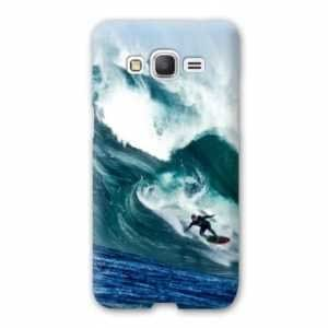 Coque Samsung Galaxy J5 J500 Sport Glisse - surf vague B