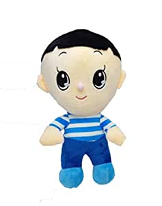 Jack Royal Stuffed Spongy Hanging Cute Big Head Son Cartoon Character Plush Soft Toy - Birthday Present, Best Gift Latest Models   9 Inch, Multicolor