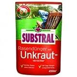 SUBSTRAL Rasendünger mit Unkrautvernichter für 450qm 9 kg-1PACK