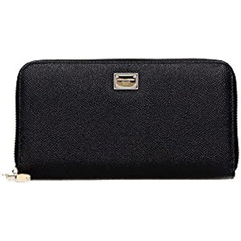 BI0906AB4728C903 Dolce&Gabbana Portafogli Donna Pelle Nero