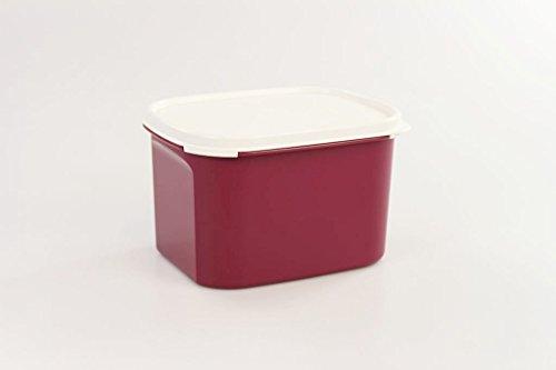 Tupperware frigorifero 1,9L Rosso Scuro/Bianco Alto Estate genossen contenitore genossen 17007