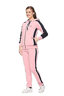 IN Love Women's Winter Wear Fleece Zipper Tracksuits (TS1408)