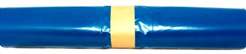 Müllsäcke 120l 80x100 cm blau HD Typ 60 - 10 Rollen à 25 Beutel