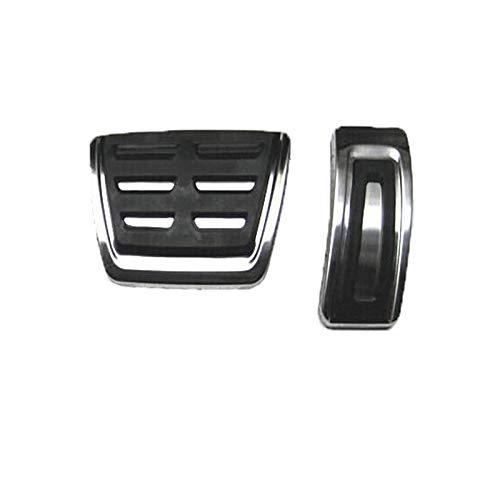 LUVCARPB Pedali Freno Auto Copertura Pedali Pastiglie Auto, Adatto per VW Golf 7 GTI MK7 Polo A07 Passat B8 Skoda Rapid Octavia 5E 5F A7 2014