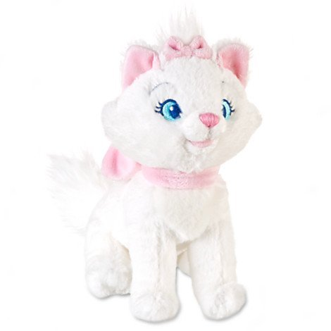 Disney The Aristocats: Marie Mini Bean Bag Plush - 7'' H by Disney - Mini-bean-bag