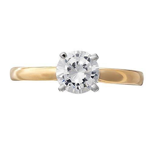 G&S Diamonds - 375 Gelbgold Getöntes Weiß/Top Cape (K) Diamant (Sein Hers Diamant-ring)