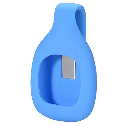ACHICOO Tasche Silikon Gürtelclip Ersatz Halter Hülle für Fit-bit Zip Activity Tracker Blue Outdoor-Produkte