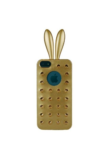 Rabito RB7000B Premium Coque Housse Etui pour Smartphone Téléphone portable Apple iPhone 5/5S Or Or