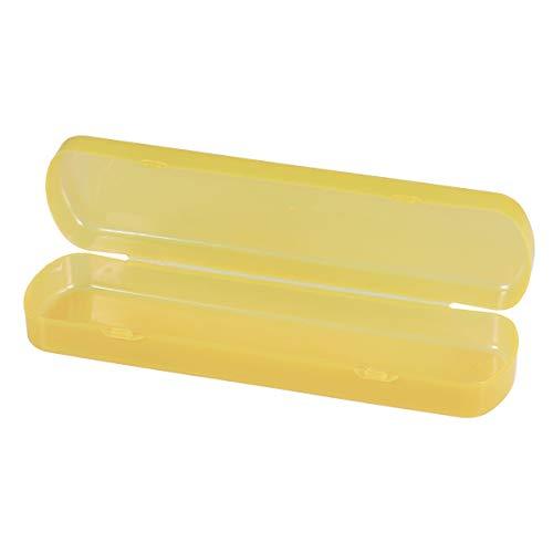ounona Étui Sacoche étui de brosse à dents Pâte à dents de voyage Portable (Orange)