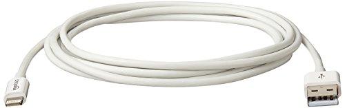 AmazonBasics Ladekabel Lightning auf USB, 1,8m, zertifiziert von Apple, Weiß - 8