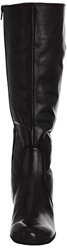 Gabor 95.649, Bottes femme Noir - schwarzes Leder