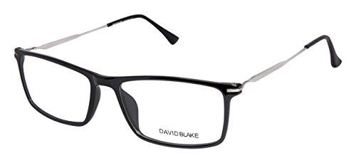 David Blake Rimmed Rectangular Unisex Spectacle Frame - LCEWDB1153FD247-C1 | 52 mm