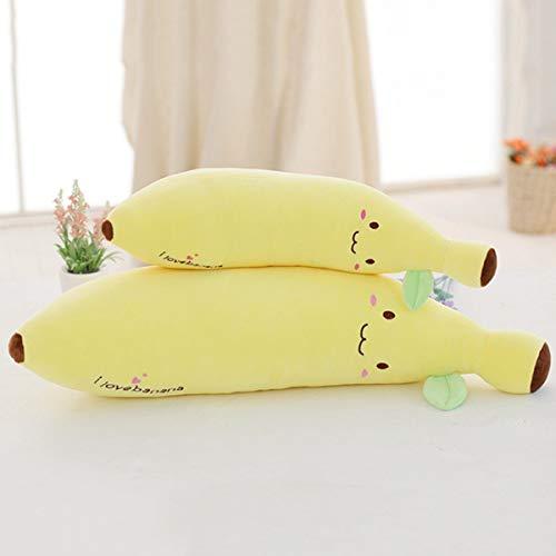 LaDicha Weiche Banana Cuddly Kawaii Expression Pillow Plush Stuffed Toy - 1