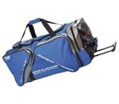 Sherwood Eishockeytasche T 80 Wheel Bag  S, Schwarz/Silber, 80026