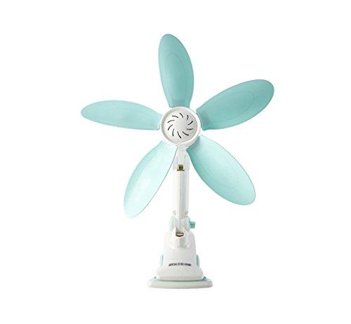 Electric fan Ventilador de mesa Dormitorio de estudiantes silencioso ventilador de hojas suaves Oficina...