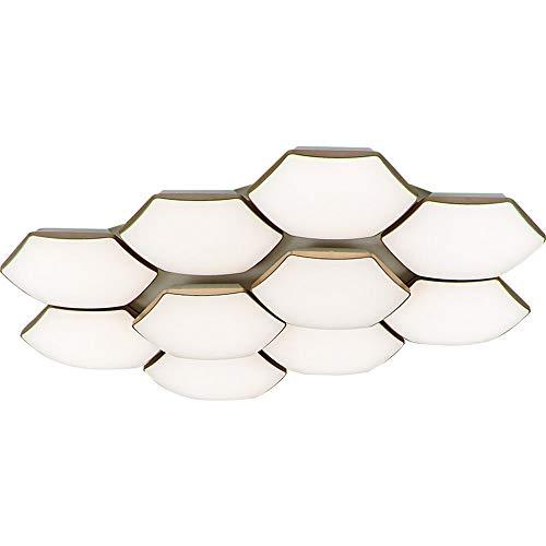 YHY LED Modern Deckenleuchten Hänge Pendelleuchten Dimmbare Fernbedienung Kronleuchter Flur Wohnzimmerlampe Schlafzimmer Küche Energiesparendes Licht, 4 Light 76 * 53CM - 4 Licht Kronleuchter Flur