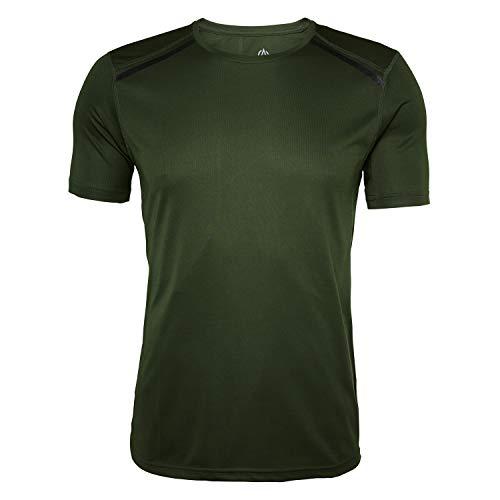 High Colorado North Bend ExoCool - Herren Trainiggsshirt Running Shirt - 136498-6005 Khaki, Größe:XL