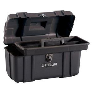 Waterloo Portable Series Tool Box made with Lightweight Industrial-Strength Plastic, 17 by Waterloo