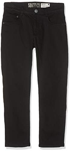 Lemmi Jungen Hose Boys Tight fit Big Jeans, Schwarz (Black Denim 0010), Herstellergröße: 134 Big Boy Jean