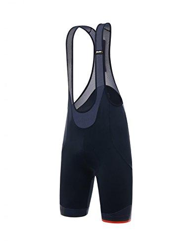 Santini Herren Ace Bib Shorts Medium Nautica Blue -