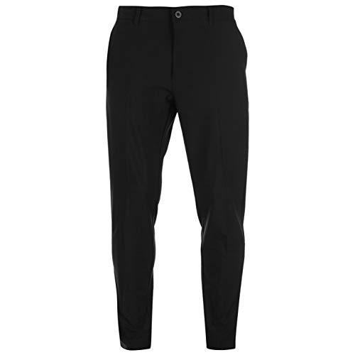Slazenger Hombre Performance Pantalones De Golf Negro