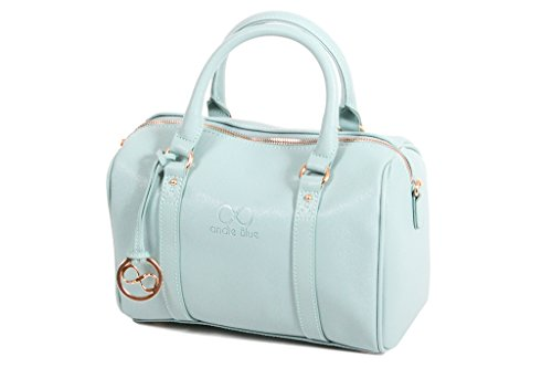 Borsa Bowling M Andie MEISSA A8082 Blue collection Argento (argento)