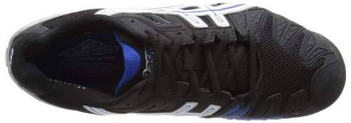 Asics Gel Resolution 5, Chaussures de tennis homme Nero (Schwarz (BLACK/WHITE/BLUE 9001))