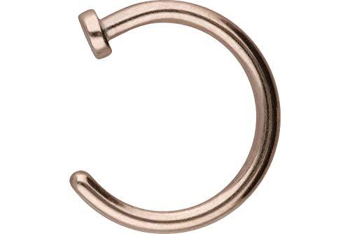 PIERCINGLINE Chirurgenstahl Nasenring offen | Piercing ✔ Nase ✔ Stecker ✔ | Farb- und Größenauswahl