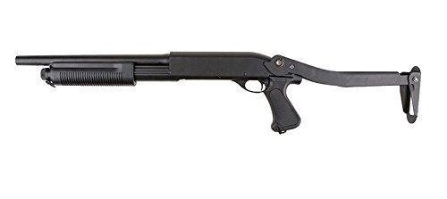 Airsoft Fusil à pompe M870 Cyma Crosse pliable (0.5 joules)