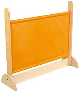 Cloison En Bois - 2 Pieds - Tissu Orange
