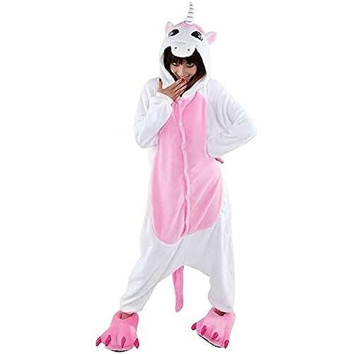 Très Chic Mailanda - Disfraz para adultos, (unisex), diseño de unicornio, color rosa
