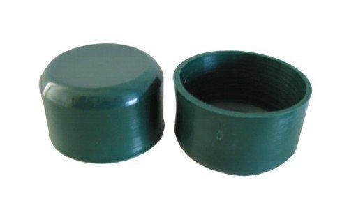 Schutzkappen für Pfosten Durchm mm. 48, Farbe Grün, Kit. 10Stück.