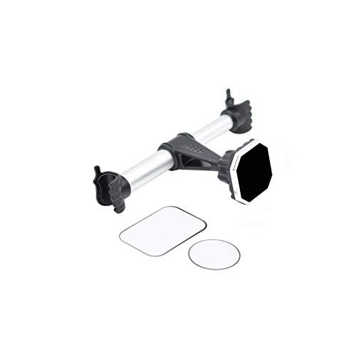 Yiwann Auto Handyhalterung Auto Kopfstütze Halterung Rücksitz Kopfstütze Magnetische Halterung Handy Tablet für iPhone silber