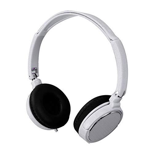 OSYARD On-Ear-Kopfhörer,Headphones,Earphones,3,5 mm Klinke Verdrahtete Ohrhörer Faltbare Stereo Sound Gaming Headset Federleicht für iPhone, iPad, Samsung, Huawei, HTC und mehr (Schwarz)