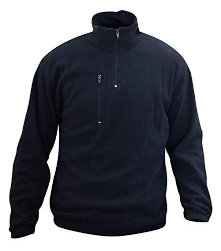 C.B.F. - Produzione professionale abbigliamento da lavoro Giacca in Pile - Felpa in Pile - Giubbetto in Pile - Colore Blu (M)