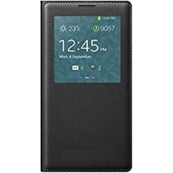 Newlike Double Sensor Window PU Leather Flip Cover for Xiaomi Redmi Note 5 (Redmi 5 Plus) - Black