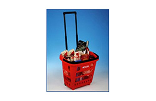 Araven 949752 Cesta con Ruedas, Desconocido, Multicolor, 35.299999999999997x46.5x40.4 cm