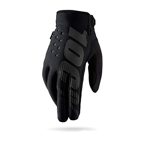 Warm your hands &World Guanti da Ciclismo Invernali Guanti da Motocross Racing, Nero M