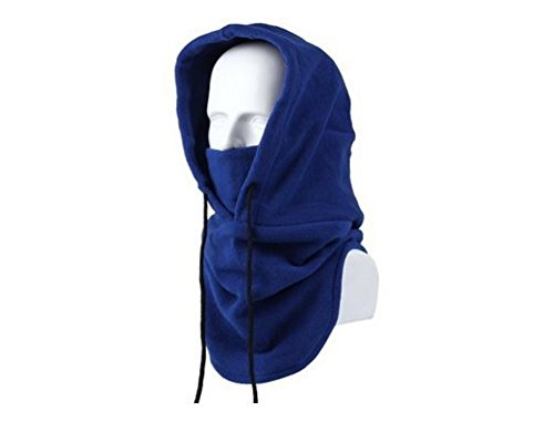 Million Mission Heavyweight Multi-use Sports CS Headgear Warm Fleece Scarf Scarves Hat Tactical Mask for Outdoor Blue