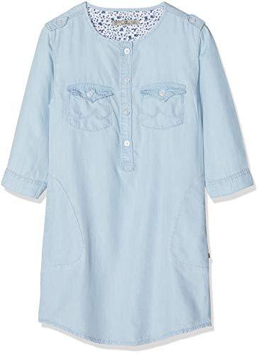LTB Jeans Mädchen Kleid Elora G, Blau (Sweet Bleach Wash 51492), 158 (Herstellergröße: 13)