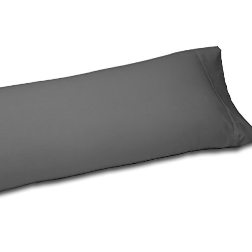 Funda Almohada COMBI 50/50 Purpura Home. Medida: 45x110 cm. Color Gris