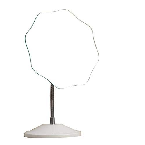 MGEU Kosmetikspiegel, Desktop Einfache Europäische Prinzessin Spiegel Kreative Einzelspiegel Schlafsaal Dressing Spiegel (Size : 17cm)