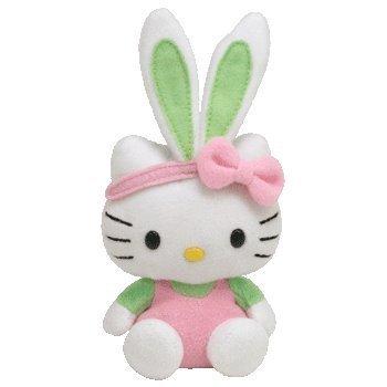 ty-beanie-baby-peluche-hello-kitty-con-tuta-a-forma-di-coniglietto-colore-rosa