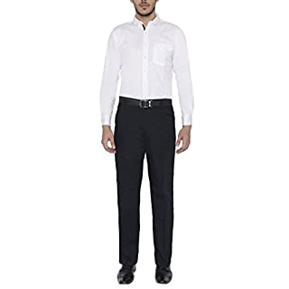 Ashdan Smart Worktrouser - Stitched Crease Front,Basic, R &L Inleg, Navy, Fitted