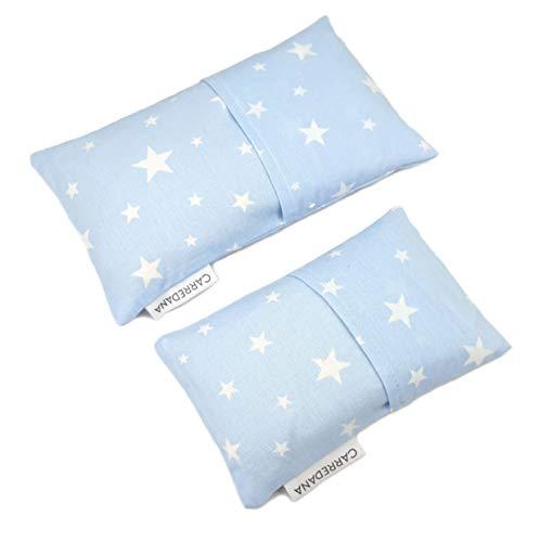 Set Saquito térmico anti cólicos extra-pequeño para recién nacidos y normal Estrellas