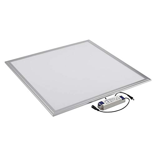 Biard Panel LED Cuadrado 36W Iluminación LED 3400 Lumens 600 x 600mm...